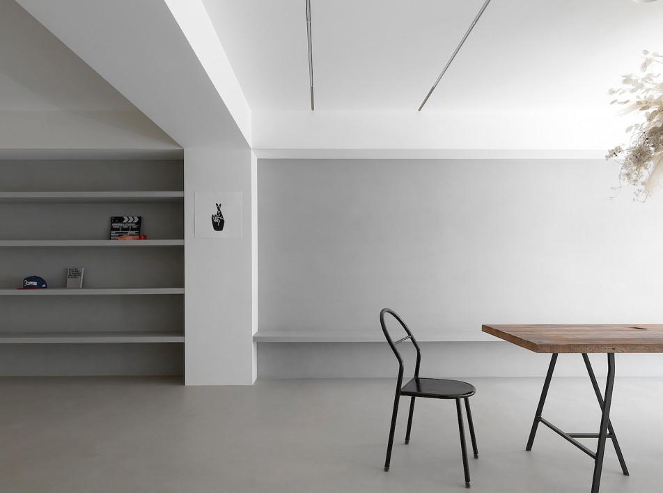 Two Books Design: минималистская квартира в Тайбэе