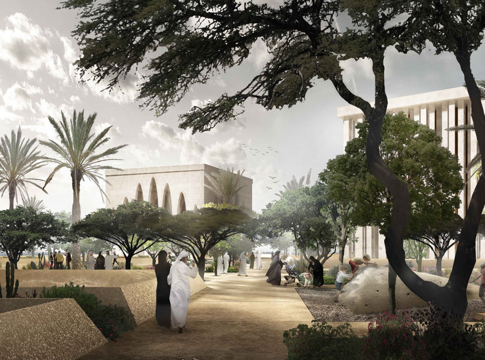 Дэвид Аджайе строит мечеть, синагогу и церковь на острове в ОАЭ