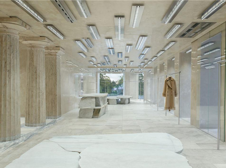 Бутик Acne Studios в Стокгольме по проекту барселонской студии Arquitectura-G