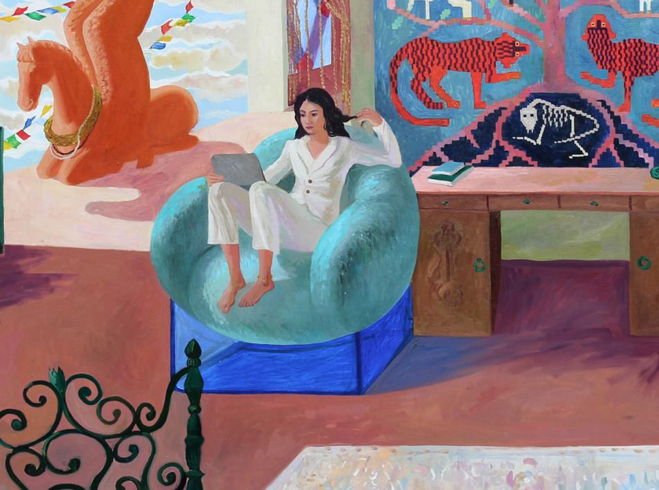Онлайн проект Sample: выставка и аукцион современного искусства
