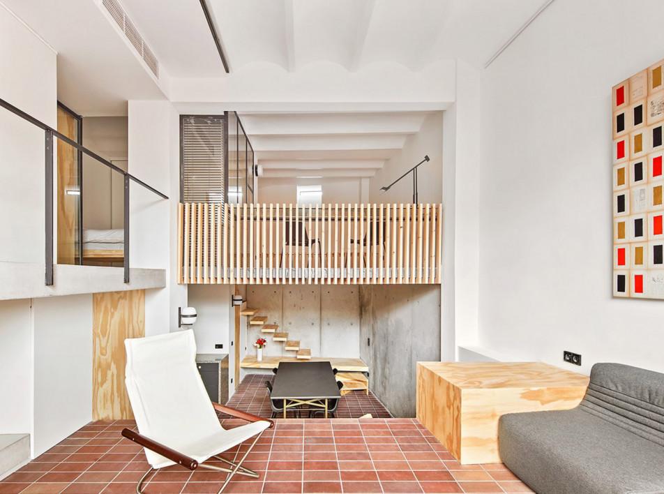 Японский дом в Барселоне