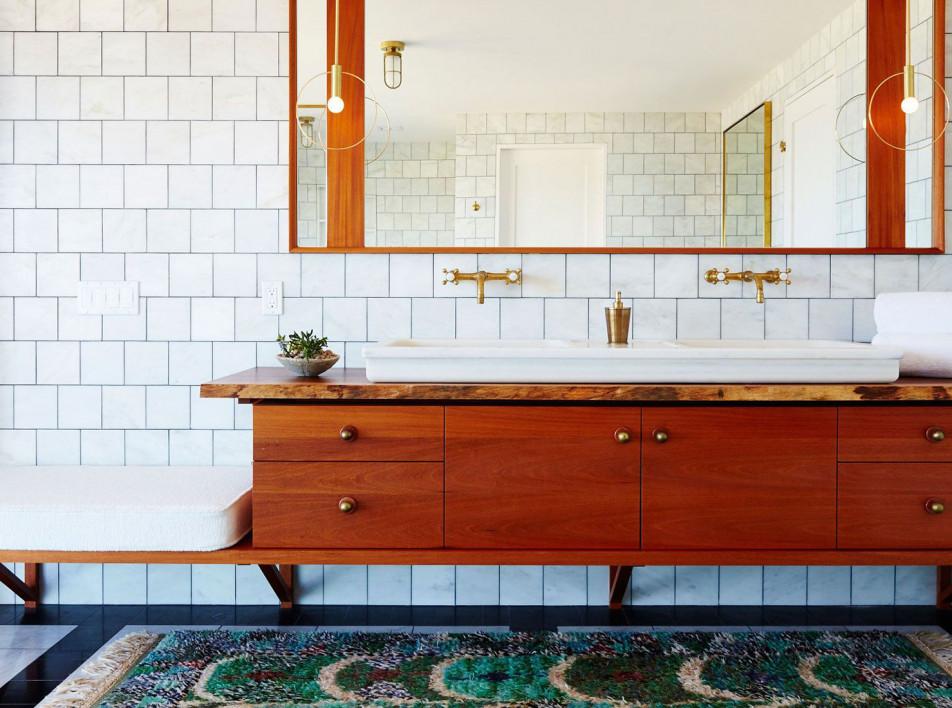 Дизайн ванной комнаты: материалы для отделки стен