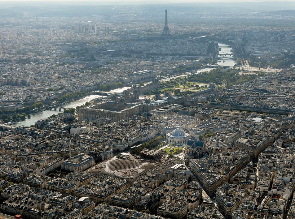 Музей по проекту Тадао Андо в Париже: новые подробности