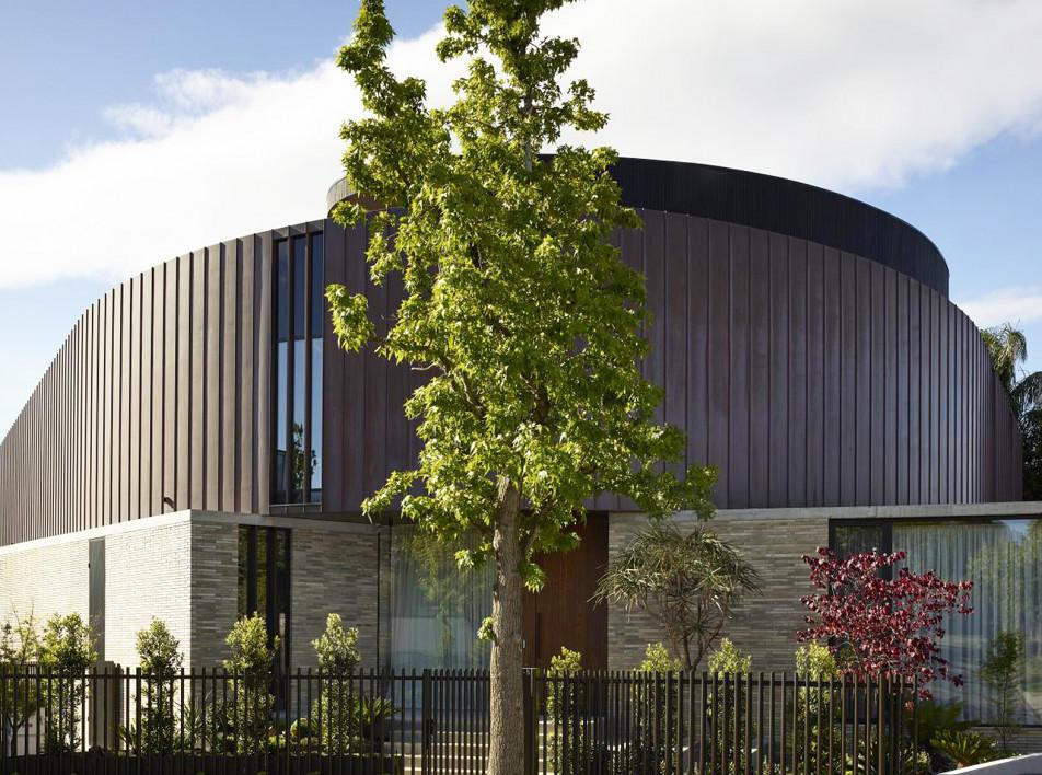Cемейный дом в Мельбурне по проекту  Cera Stribley и AV-ID Design