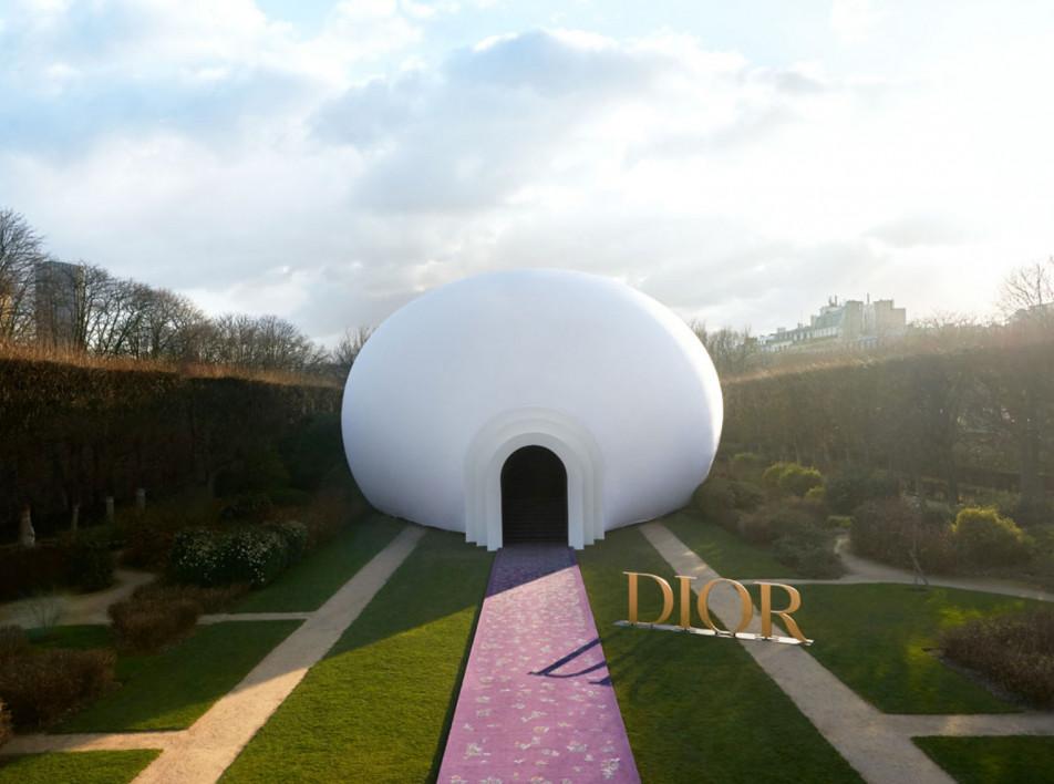 Павильон Dior и феминизм Джуди Чикаго