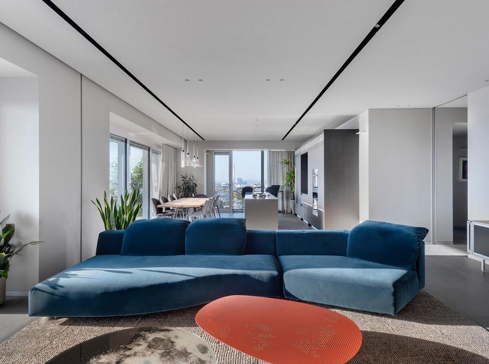 Binderman architects: итальянская квартира в Тель-Авиве