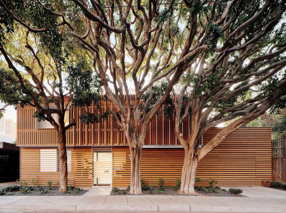 Fougeron Architecture: прозрачный дом в Сан-Франциско