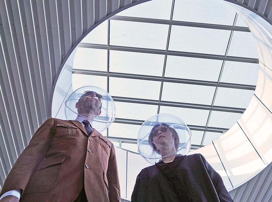 Шлем для социального дистанцирования по проекту Plastique Fantastique