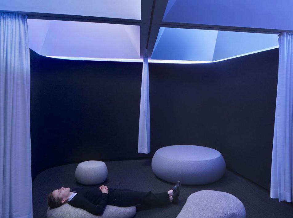 Комната для медитаций в штаб-квартире Google