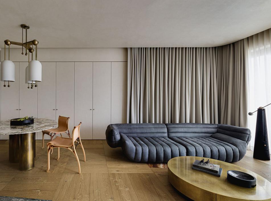 NC Design & Architecture: «несовершенная» квартира в Гонконге