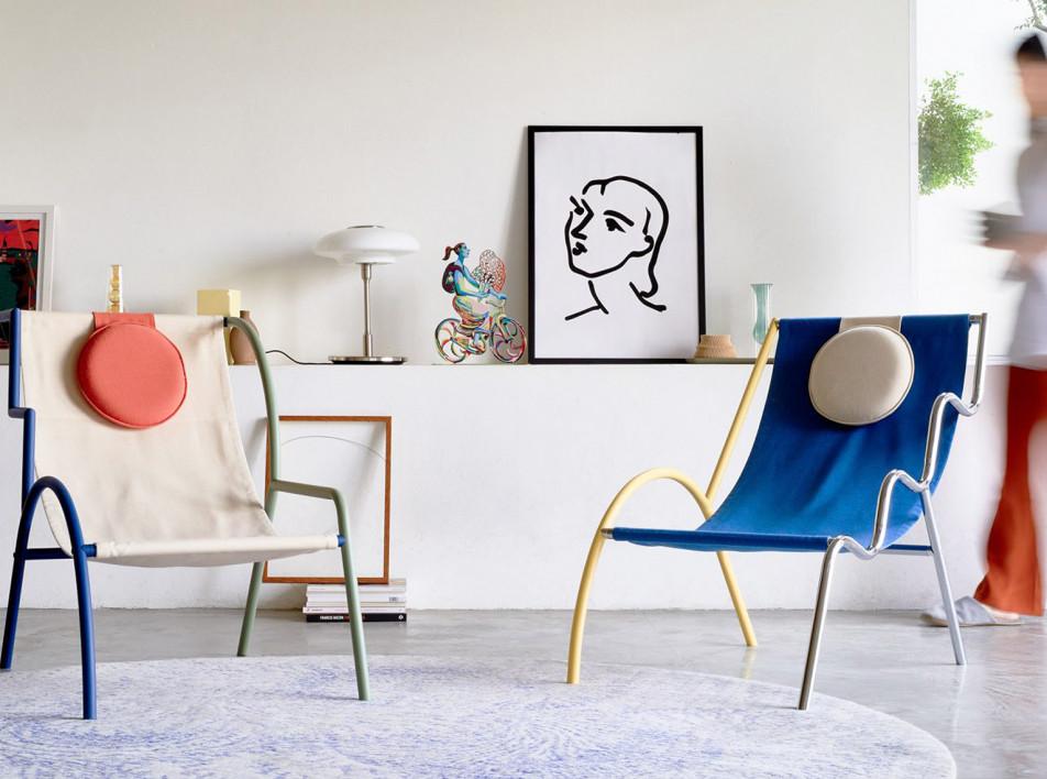 Тайская мебель в стиле Memphis