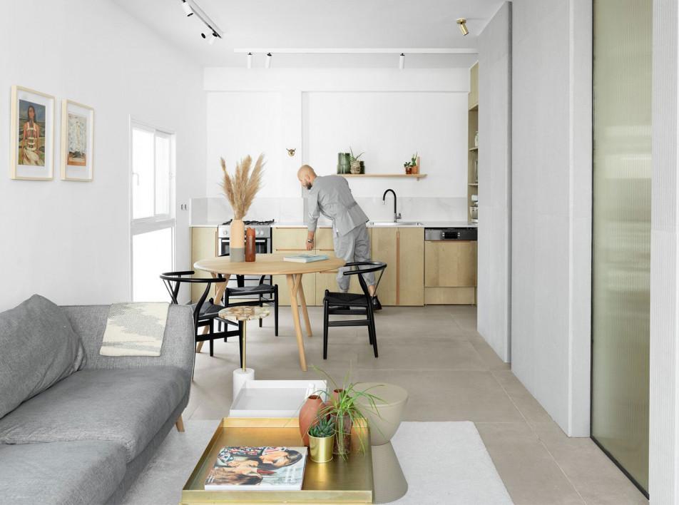Квартира в Тель-Авиве по проекту K.O.T Architects