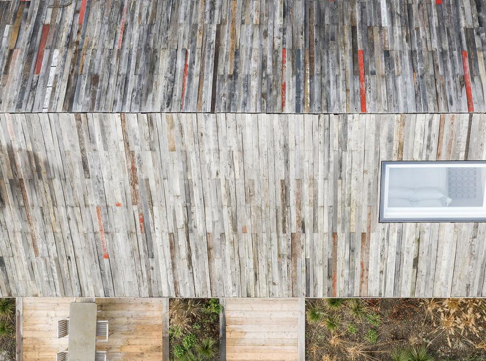Pad Studio: дом с обшивкой от старого сарая