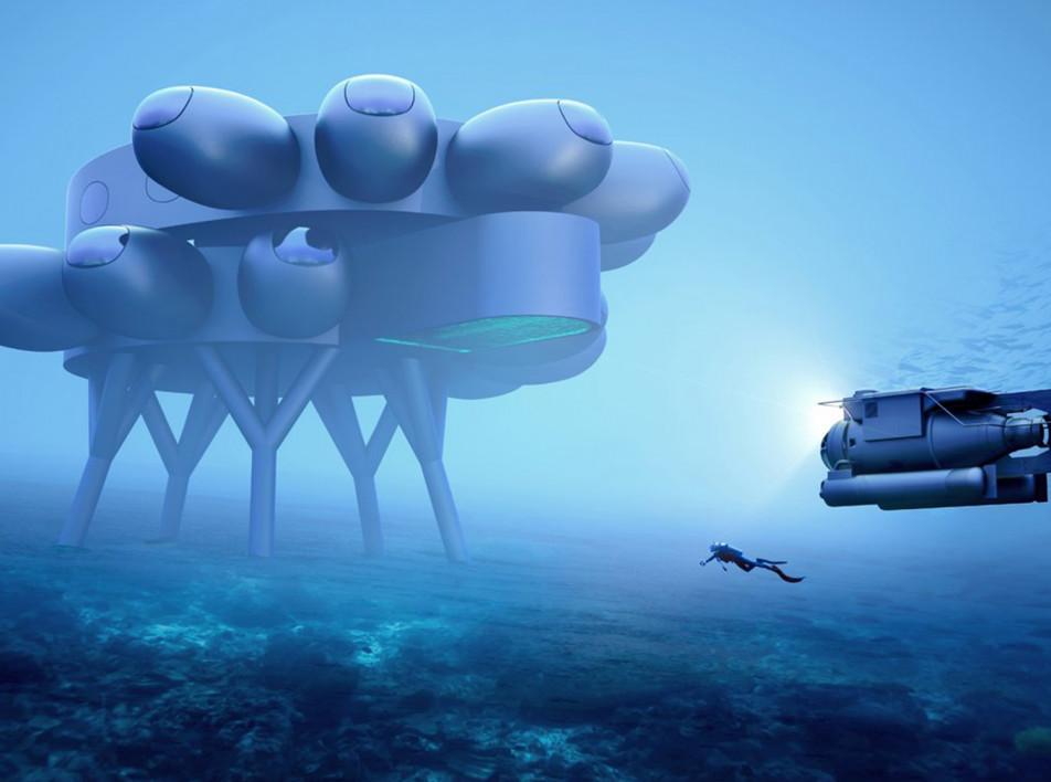 Подводная станция Ива Беара