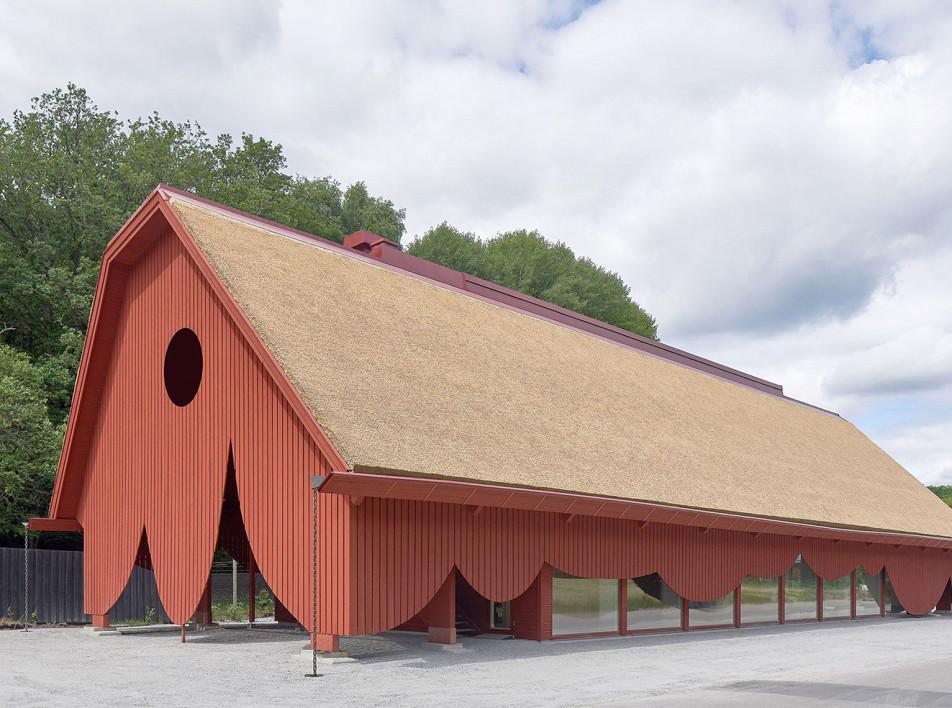 Здание в ландшафтном заповеднике по проекту Sandellsandberg