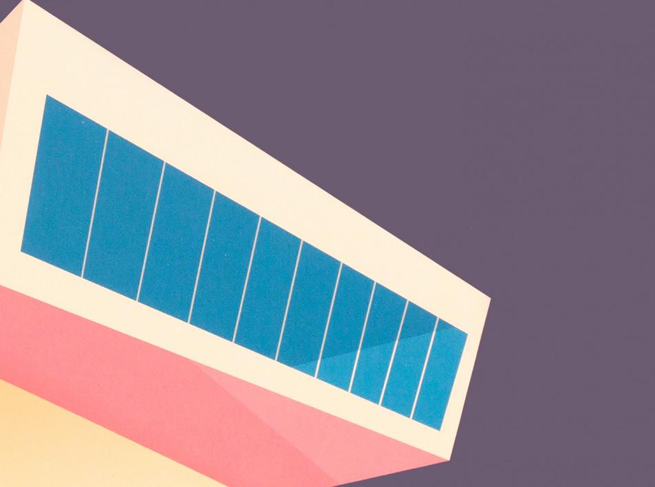 Архитектура Захи Хадид и Ле Корбюзье на обложках от Ever Paper