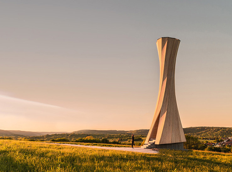 Деревянная башня в долине Ремс