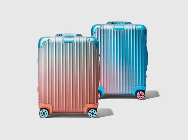 Алекс Израэль: цветные чемоданы художника