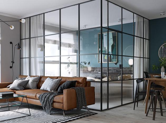 Martin Architects: маленькая квартира в Киеве