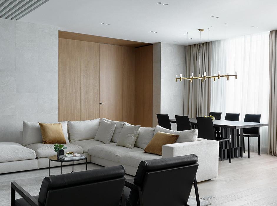 Artem Babayants Architects: удобная квартира для семьи с тремя детьми