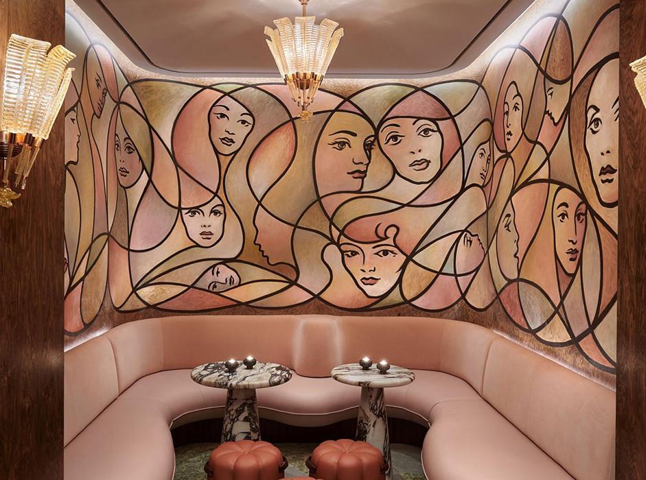 Bryan O'Sullivan Studio: бар в лондонском отеле