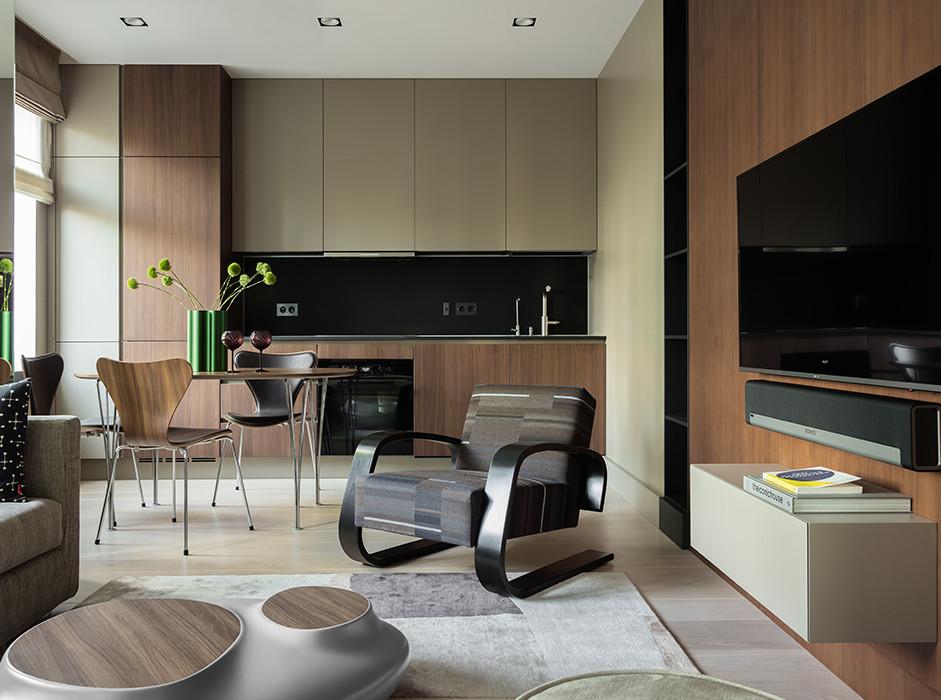 Иван Качалов: семейная квартира архитектора
