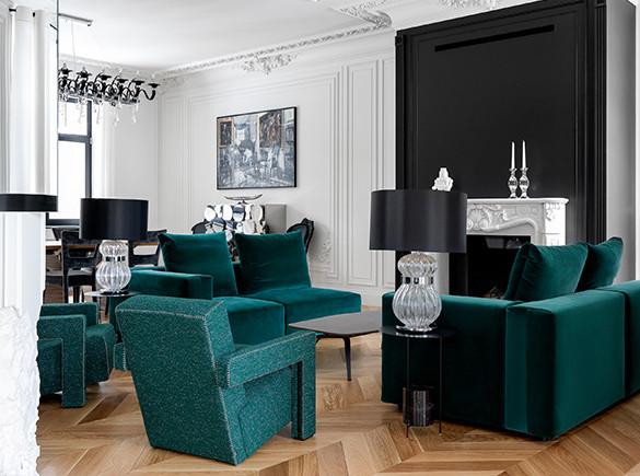 Светлана Шалдыбина: «французский» дом с итальянской мебелью
