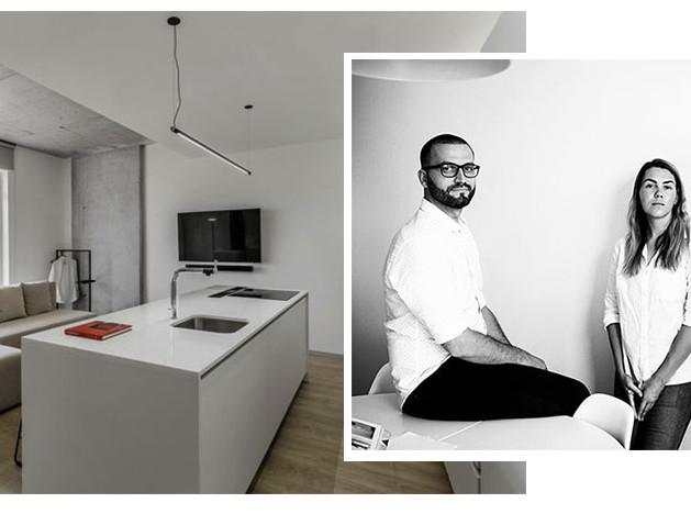 M3 Architects: небольшая квартира из четырех зон