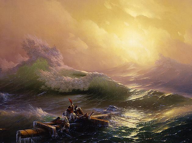 Штиль и буря. Выставка Ивана Айвазовского в Москве