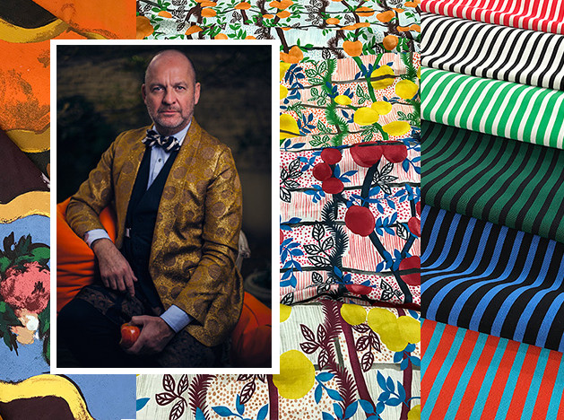 Декоратор Герт Ворьянс: новые краски в тканях Jim Thompson