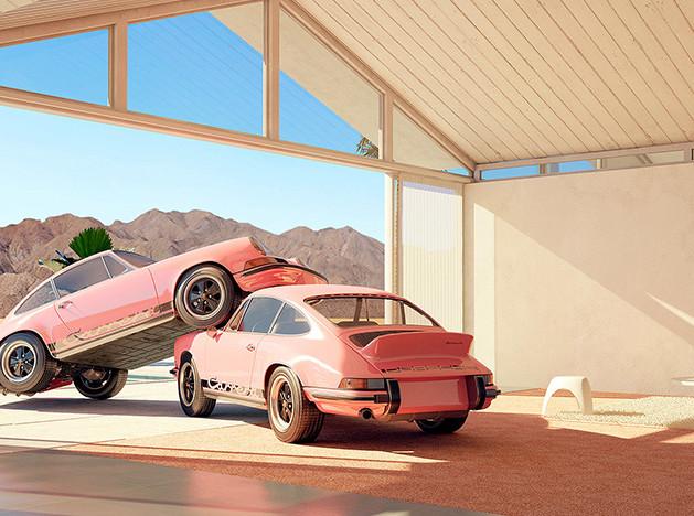 Крис Лабруй (Сhris Labrooy) и свингующие Porsche 911