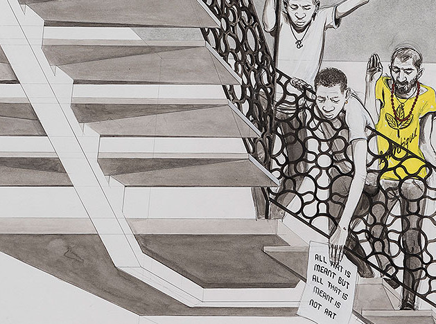 Guerlain Prize 2017: рисунок от руки