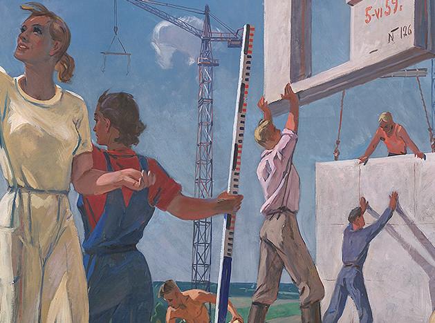Выставка в ГМИИ «Лицом к будущему. Искусство Европы 1945–1968»