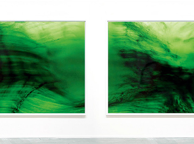 Diffused image. Гипнотизирующий цвет дарят домам произведения искусства