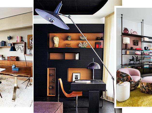 Домашний кабинет: 30 решений от дизайнеров