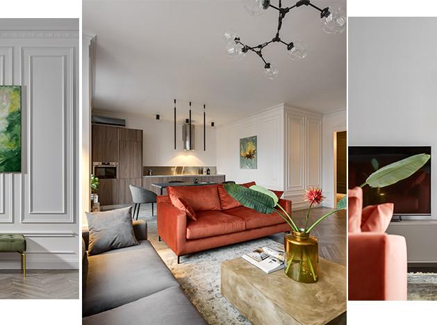 Bassano&Sivak design-studio: семейная квартира без спальни