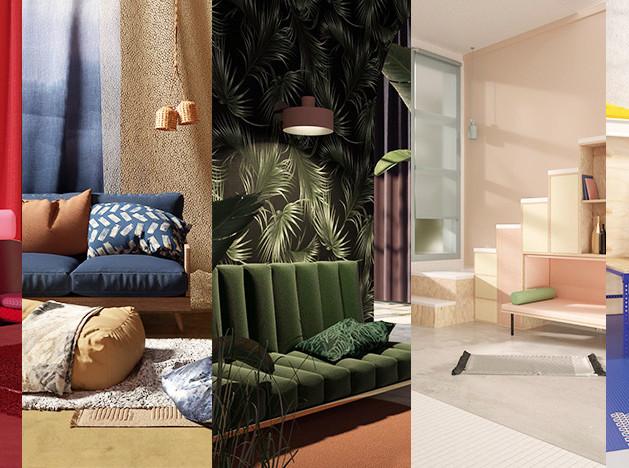 Тренды 2018/2019: цвет, дизайн и текстиль
