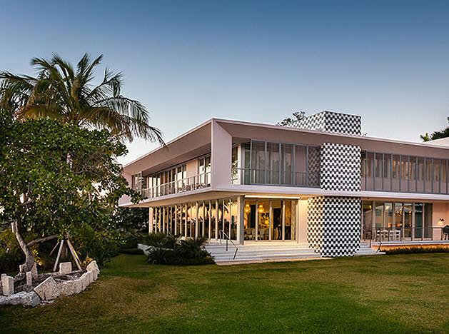 Счастье в Майами: вилла Джорджа Линдеманна Младшего