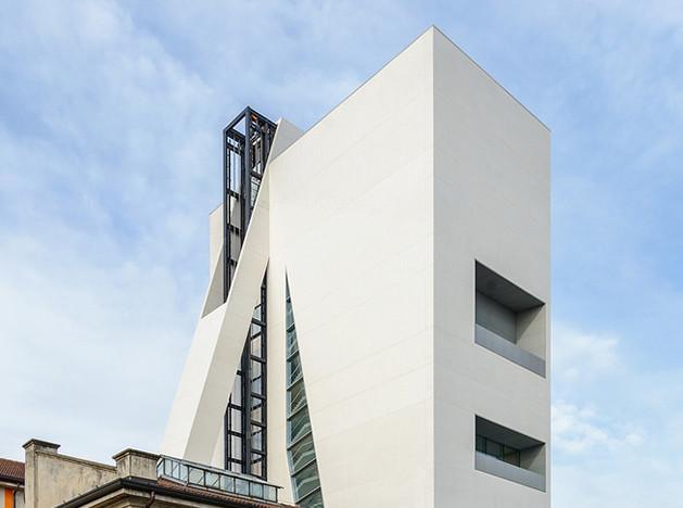 Рем Колхас достроил башню для Fondazione Prada