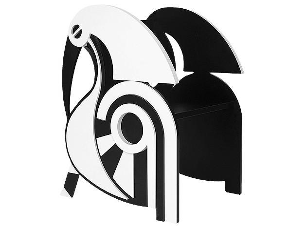 Птичка. Кресло, спроектированное Material Lust