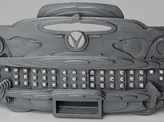 Бриллианты и бьюик — украшение Гиса Баккера на выставке Design/Miami Basel