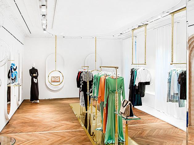 Три парижских бутика: роскошные пространства рекомендует ИНТЕРЬЕР+ДИЗАЙН