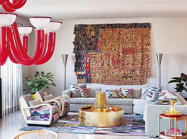 Розита Миссони: миланская квартира знаменитой итальянки