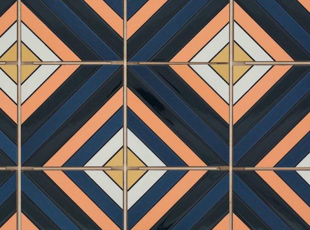 Калифорнийские ландшафты на плитке Fireclay Tile