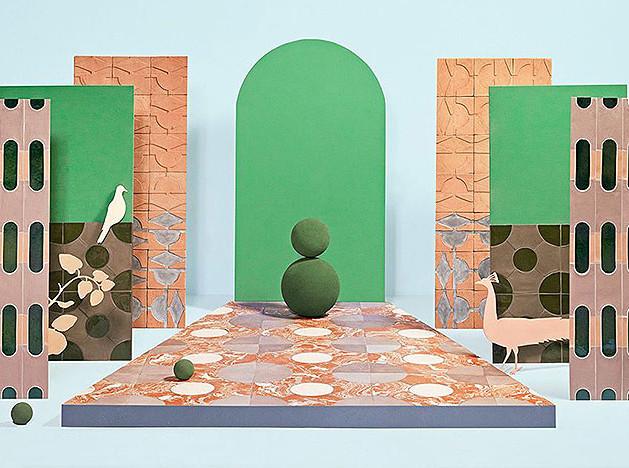 «Садовая» плитка Кристины Челестино
