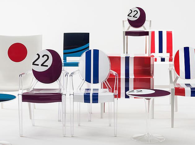 Kartell+Lapo Ellkan: иконы дизайна в новых расцветках