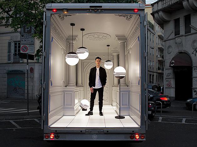 Ли Брум: Salone Del Automobile или палаццо на колесах