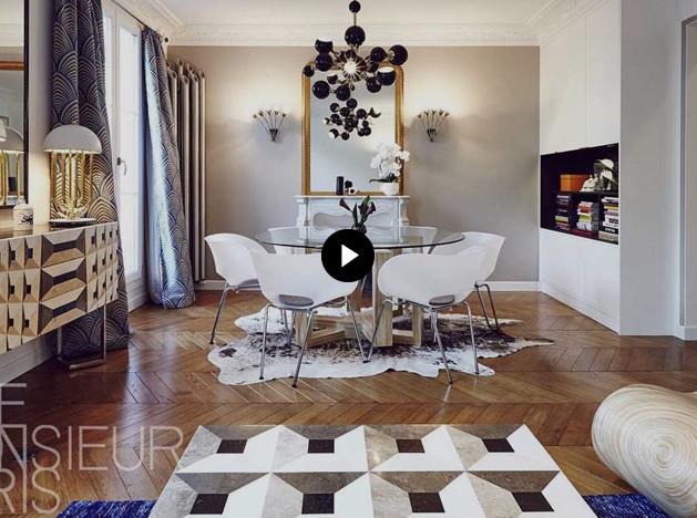Интерьер от Rue Monsieur Paris: модные приемы Марьяна и Марчина
