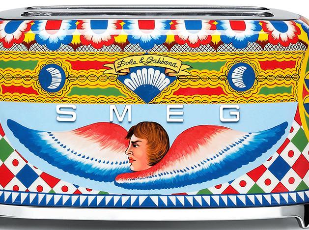 Dolce & Gabbana для Smeg: тостеры и миксеры настоящих сицилийцев