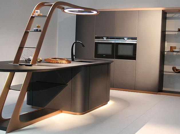 EuroCucina 2016: новая кухня-cуперкар от Snaidero